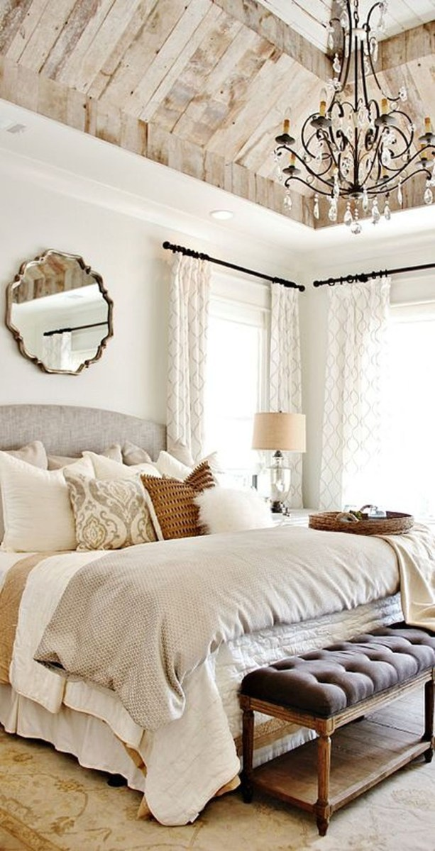 Awesome Rustic Farmhouse Bedroom Decoration Ideas 14