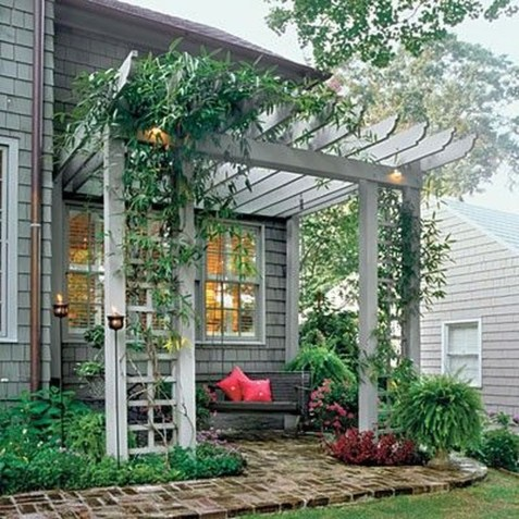 Awesome Small Backyard Patio Design Ideas 13