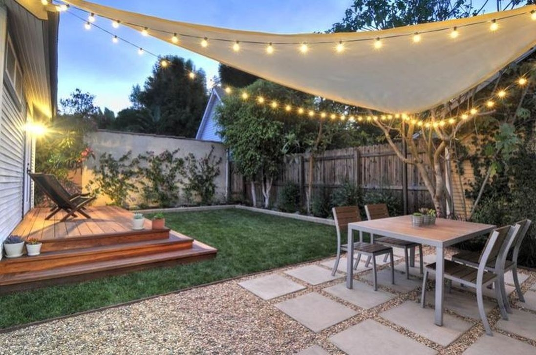 Awesome Small Backyard Patio Design Ideas 30