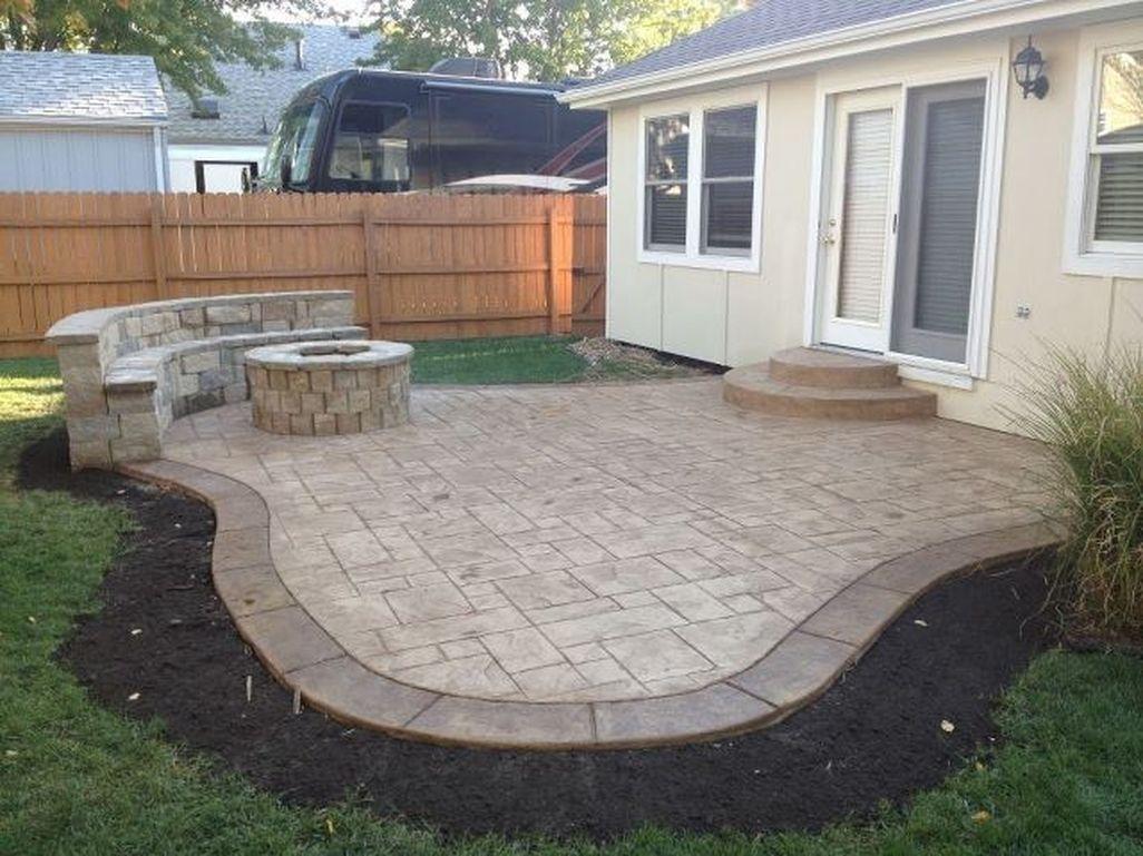 Awesome Small Backyard Patio Design Ideas 36