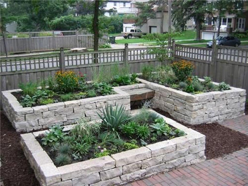 Beautiful Front Yard Rock Garden Design Ideas 06