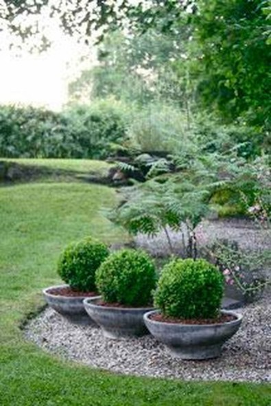 Beautiful Front Yard Rock Garden Design Ideas 29