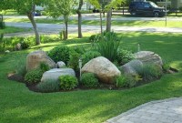 Beautiful Front Yard Rock Garden Design Ideas 36