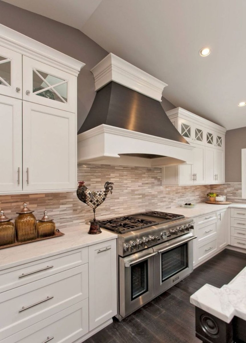 Best White Kitchen Cabinet Design Ideas 28