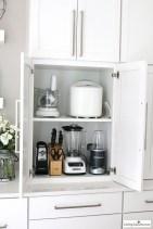 Best White Kitchen Cabinet Design Ideas 30