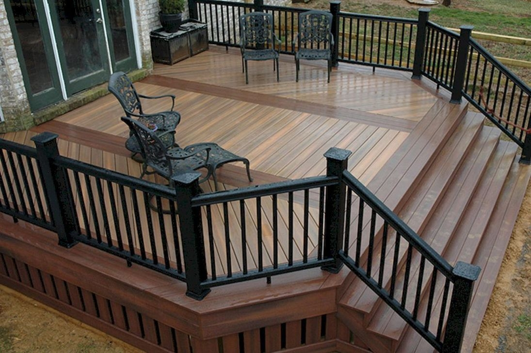 Cozy Backyard Patio Deck Design Decoration Ideas 03