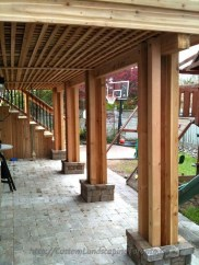 Cozy Backyard Patio Deck Design Decoration Ideas 43