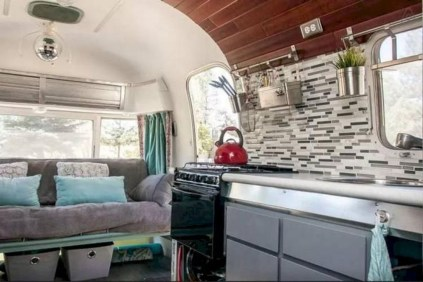 Creative Small Rv Kitchen Design Ideas 16