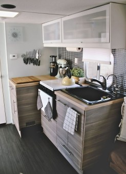 Creative Small Rv Kitchen Design Ideas 20
