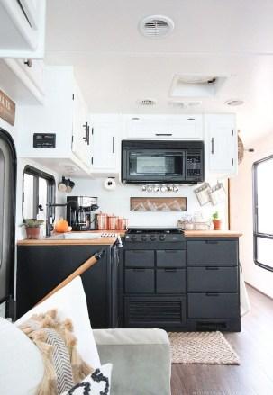 Creative Small Rv Kitchen Design Ideas 22