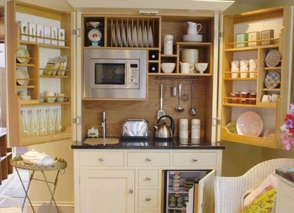 Creative Small Rv Kitchen Design Ideas 30