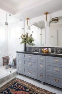 Fresh Rustic Farmhouse Master Bathroom Remodel Ideas 37