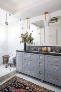 Fresh Rustic Farmhouse Master Bathroom Remodel Ideas 37