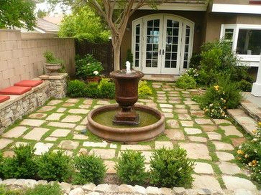 Stunning Front Yard Walkway Landscaping Design Ideas 39