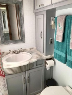 Totally Inspiring Rv Bathroom Remodel Organization Ideas 09