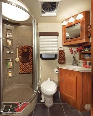 Totally Inspiring Rv Bathroom Remodel Organization Ideas 38