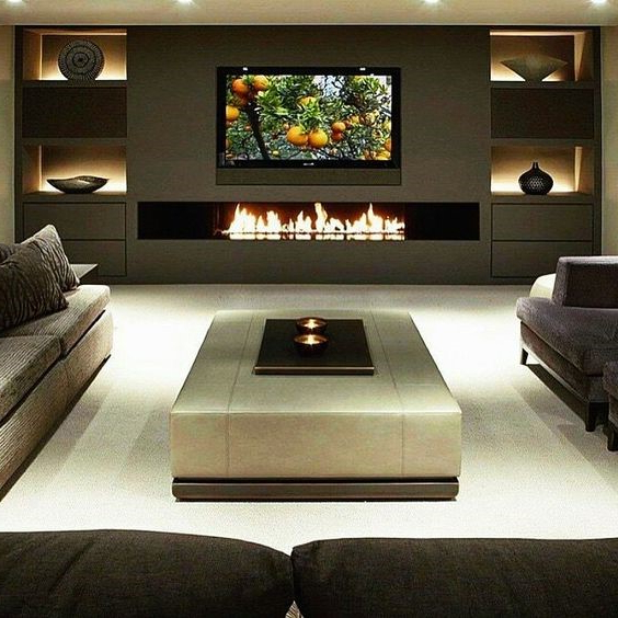 10 Decorating Ideas For Wall Mounted Fireplace Make Your