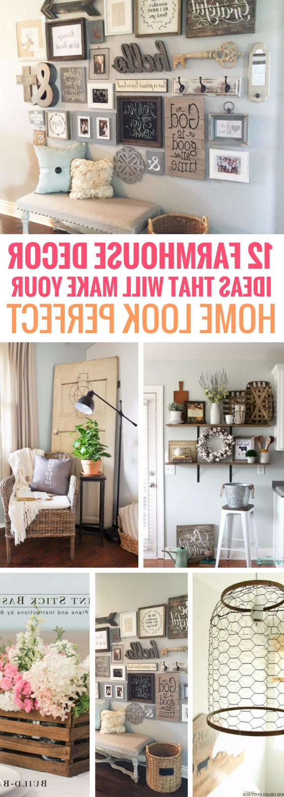 12 Farmhouse Decor Ideas That Will Make Your Home Look