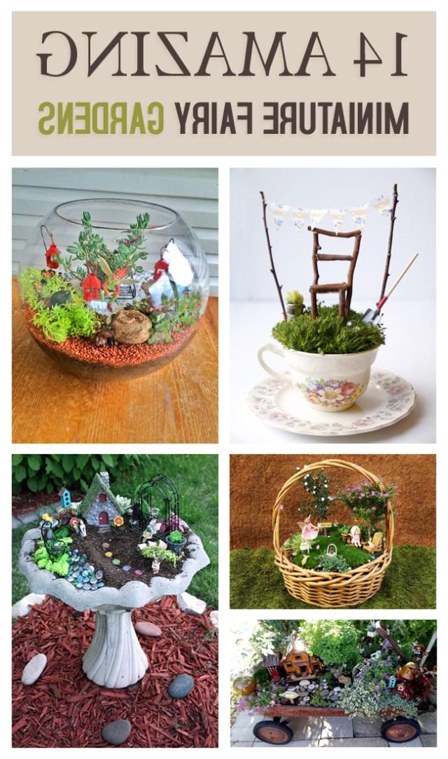 14 Amazing Miniature Fairy Gardens To Inspire You