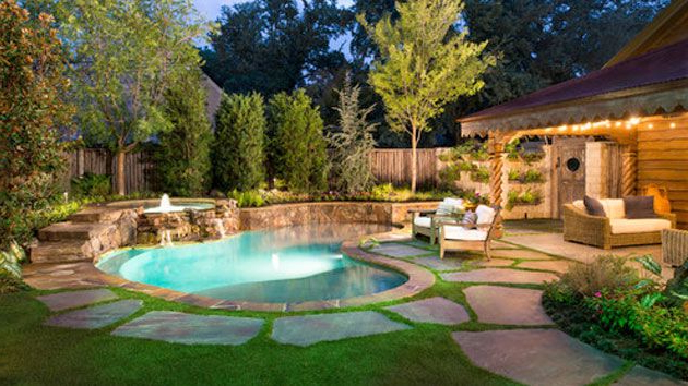 15 Amazing Backyard Pool Ideas Small Backyard Pools
