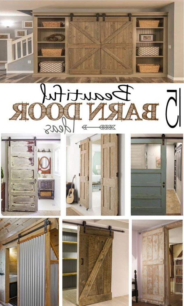 15 Beautiful Barn Door Ideas Metal Building Homes Home