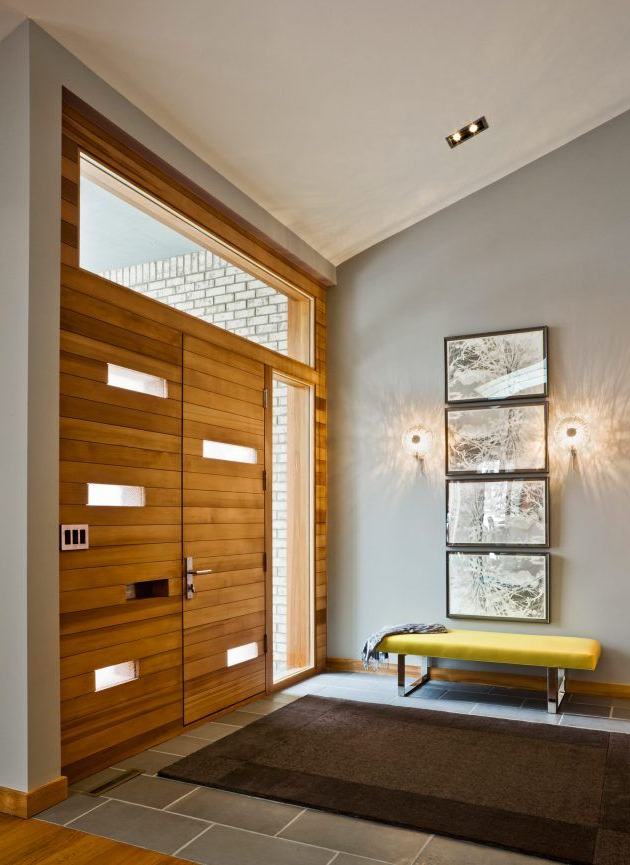 15 Beautiful Modern Foyer Designs That Will Welcome You