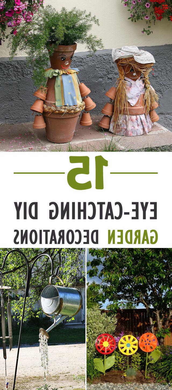 15 Eye Catching Diy Garden Decorations