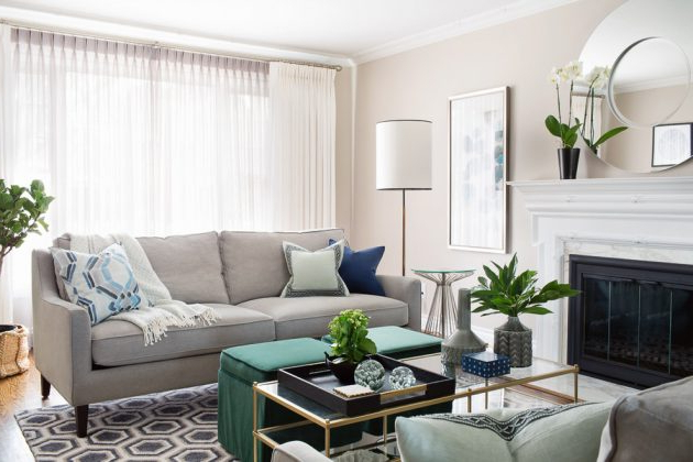 15 Incredible Transitional Living Room Interior Designs
