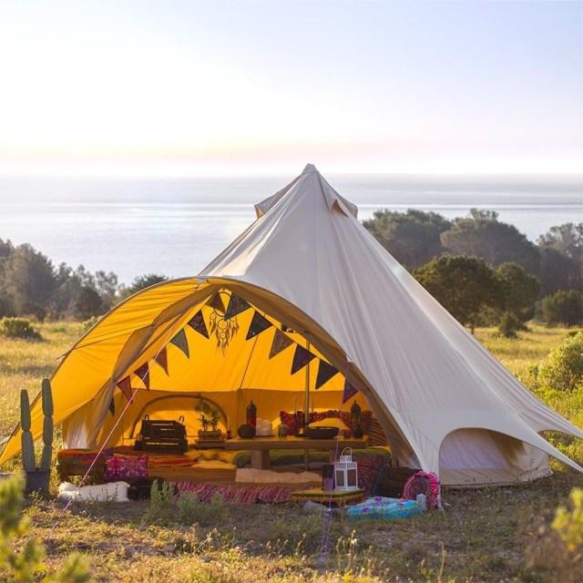 15 Unique Bohemian Festival Camping Ideas Bell Tent