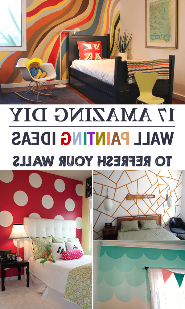 17 Amazing Diy Wall Painting Ideas To Refresh Your Walls
