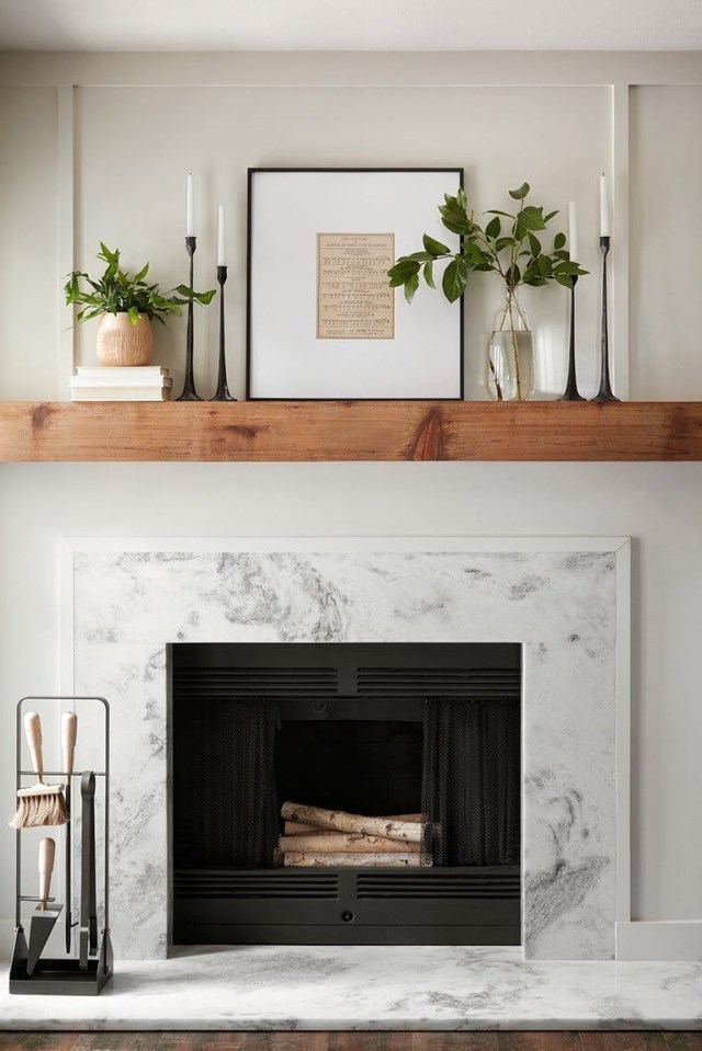 17 Beautiful Fireplace Surround Ideas That Will Bring