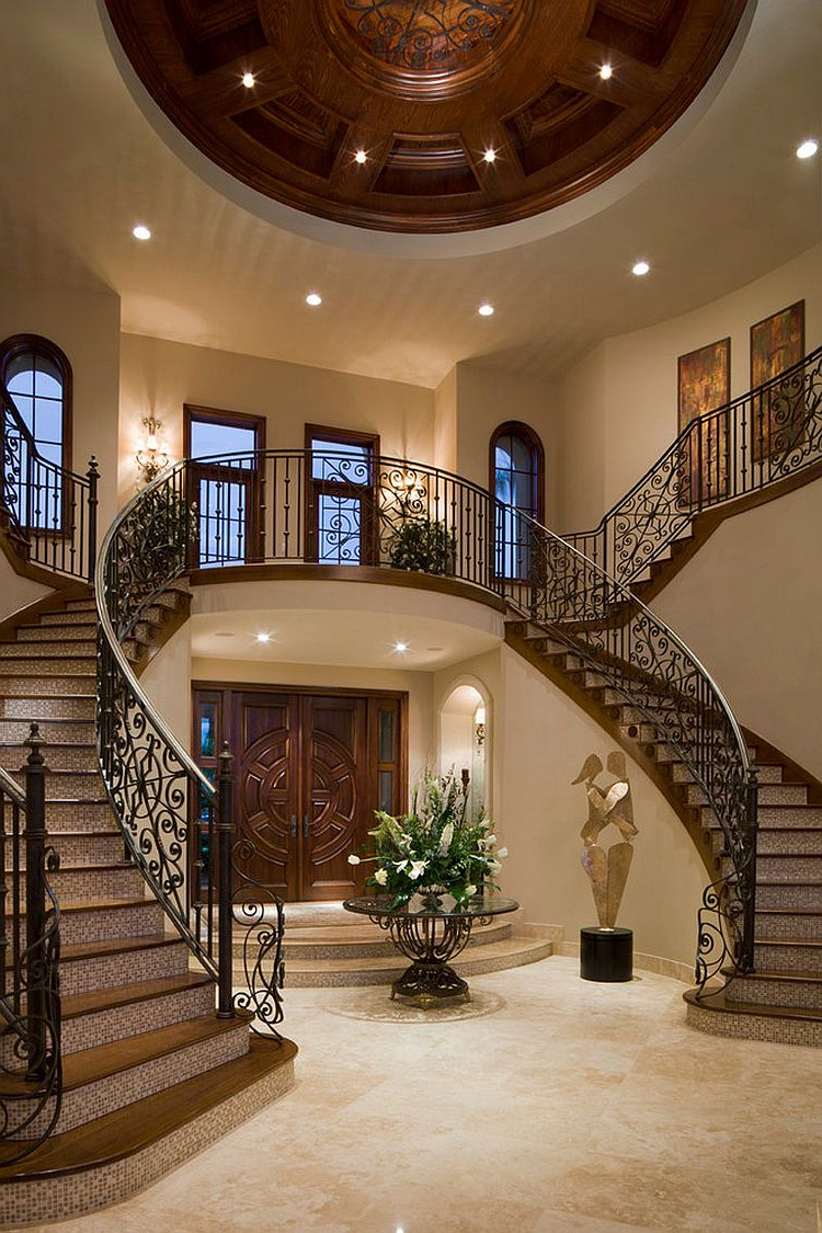 17 Beautiful Mediterranean Staircase Design Ideas