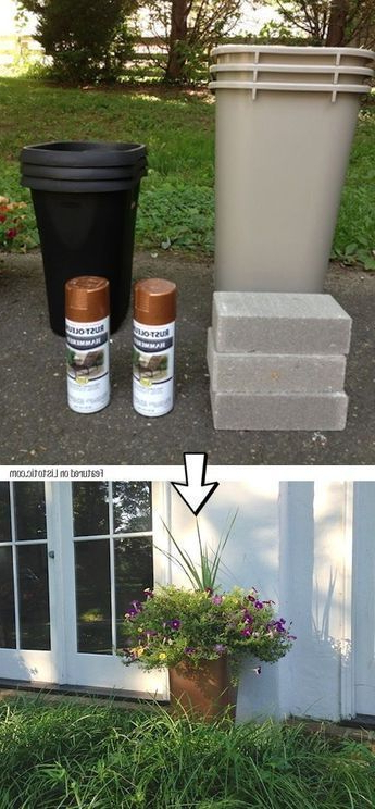 17 Diy Large Outdoor Planters For A Bargain Home