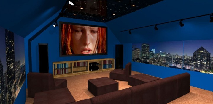 17 Outstanding Attic Home Theaters