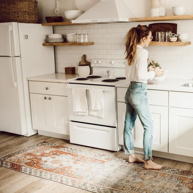 17 Suggestion Best Area Rugs For Kitchen Retro Home