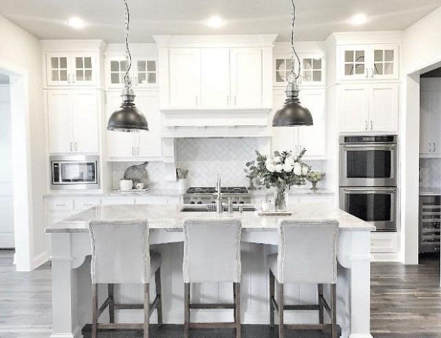 20 Beautiful White Kitchen Cabinets Ideas Kitchen