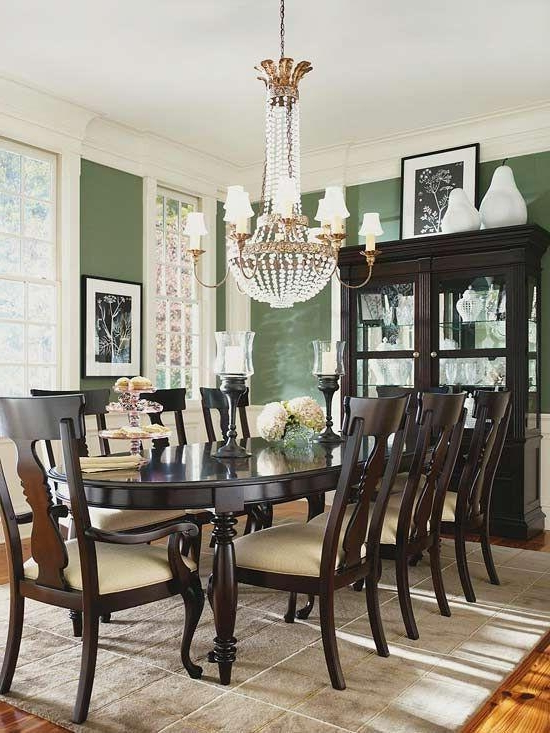 20 Best Dark Wood Dining Room Furniture Dining Room Ideas