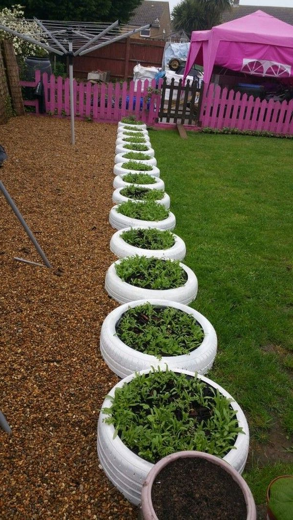 20 Diy Tire Planters That Will Catch Your Attention Yard
