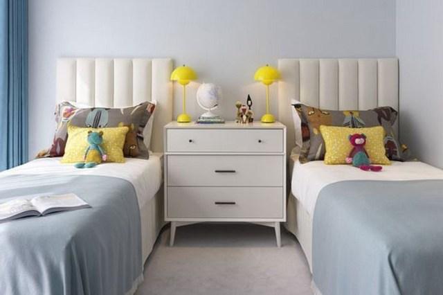 20 Small Twins Minimalist Bedroom Designs For Boys