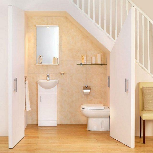 20 Stunning Bathroom Design Under Stairs For Unique