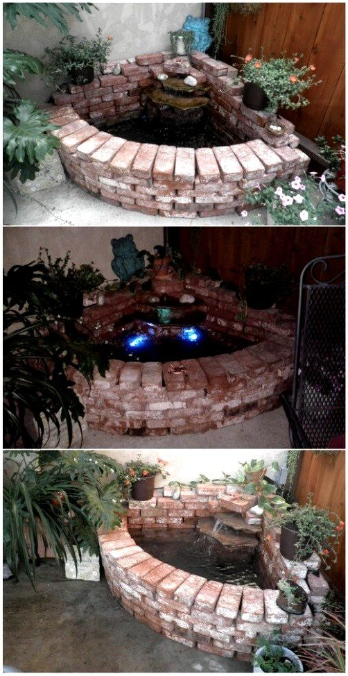 20 The Best Diy Old Brick Projects For Backyard Brick