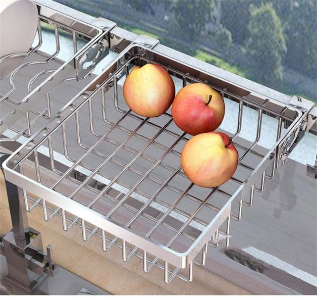 2019 New 304 Stainless Steel Kitchen Dish Rack Plate