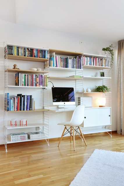 21 Charming Scandinavian Study Space That Abound With
