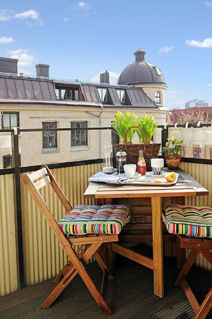 22 Colorful Small Balcony Decorating Ideas Increasing Home
