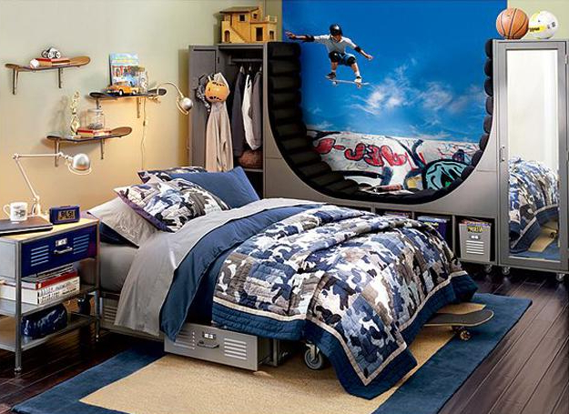 22 Teenage Bedroom Designs Modern Ideas For Cool Boys