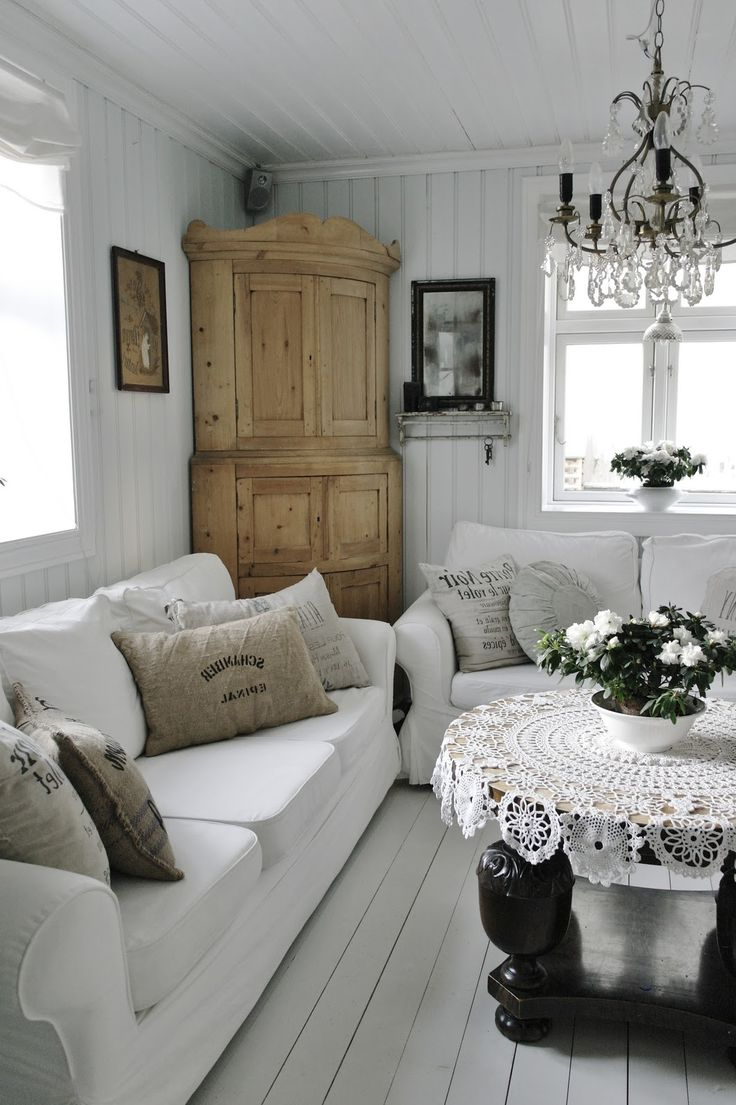 2238 Best Shab Romantic Cottage Livingrooms Images On