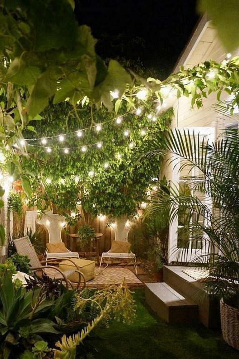 23 Marvelous Outdoor Garden Fairy Lighting Decorating