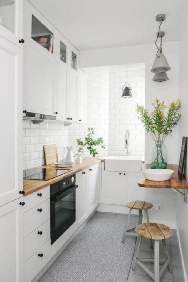 24 Incredible Modern Small Kitchen Design Ideas Small