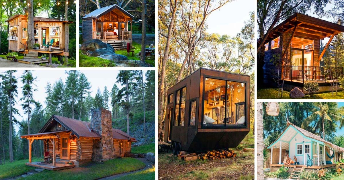 25 Amazing Tiny Cabins To Dream About Decor Home Ideas