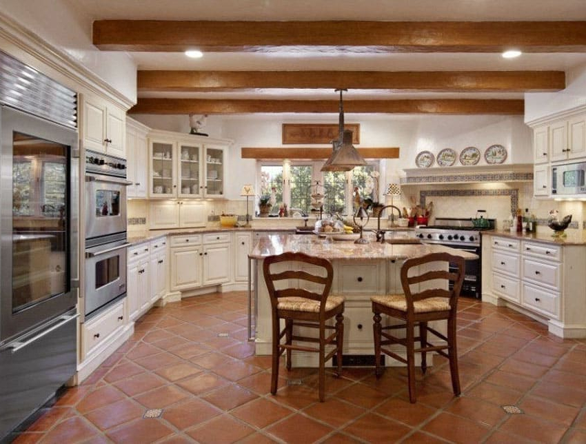 25 Beautiful Spanish Style Kitchens Design Ideas